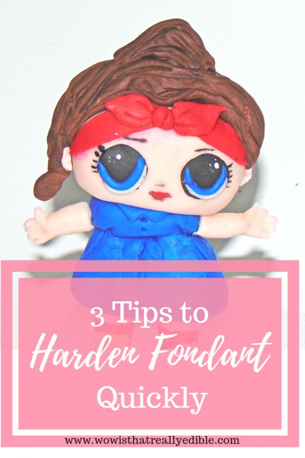 3 Tips To Harden Fondant Quickly Wow Is That Really Edible
