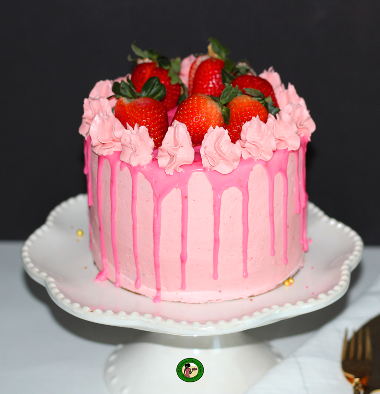 The Best Strawberry Cake From Scratch