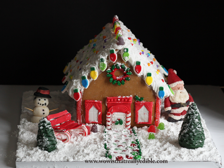 How to Make Gingerbread House + Tips and Tricks , Wow! Is
